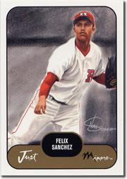 2002 Just Prospects #34 Felix Sanchez