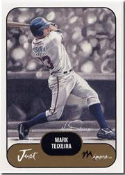 2002 Just Prospects #38 Mark Teixeira