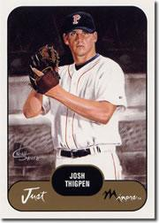 2002 Just Prospects #39 Josh Thigpen