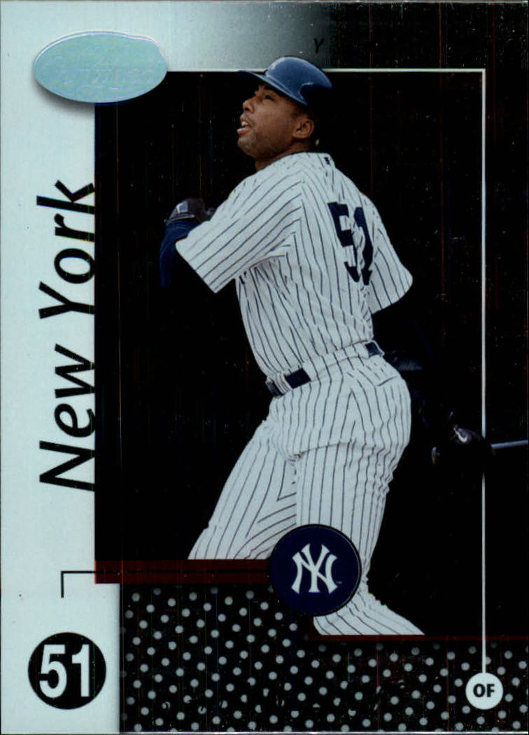 2002 Leaf Certified #66 Bernie Williams front image