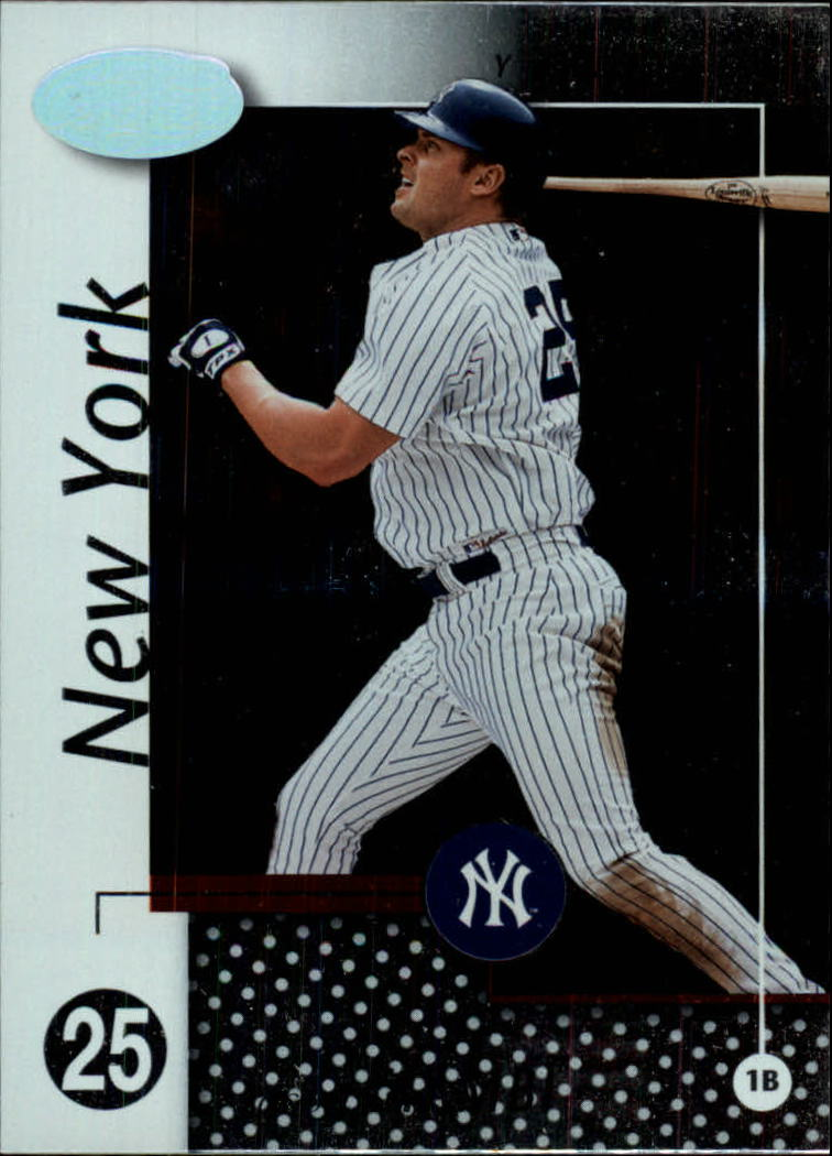 2002 Leaf Certified #149 Jason Giambi