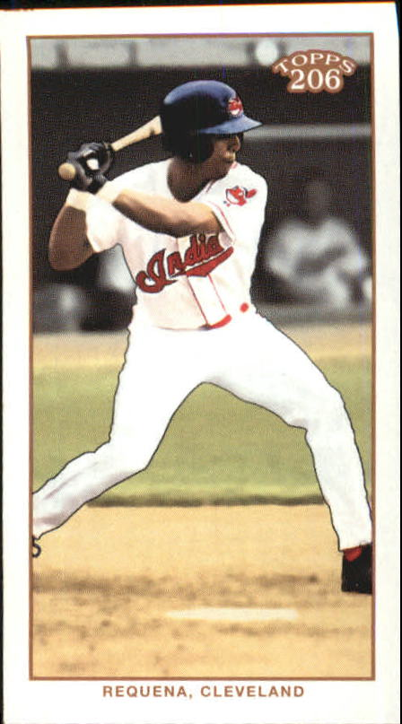 2002 Topps 206 Carolina Brights #276 Alex Requena FYP