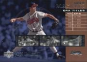2002 UD Piece of History ERA Leaders #E1 Greg Maddux