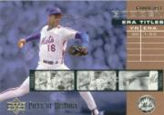 2002 UD Piece of History ERA Leaders #E7 Dwight Gooden