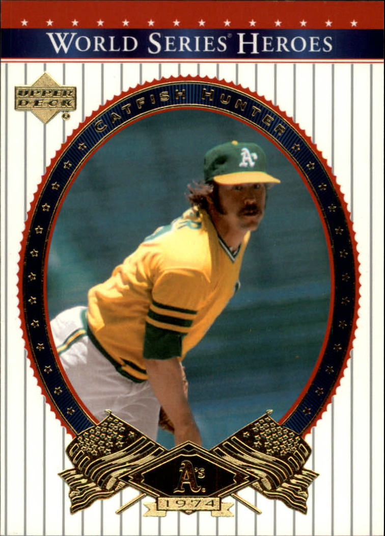 2002 Upper Deck World Series Heroes #1 Catfish Hunter