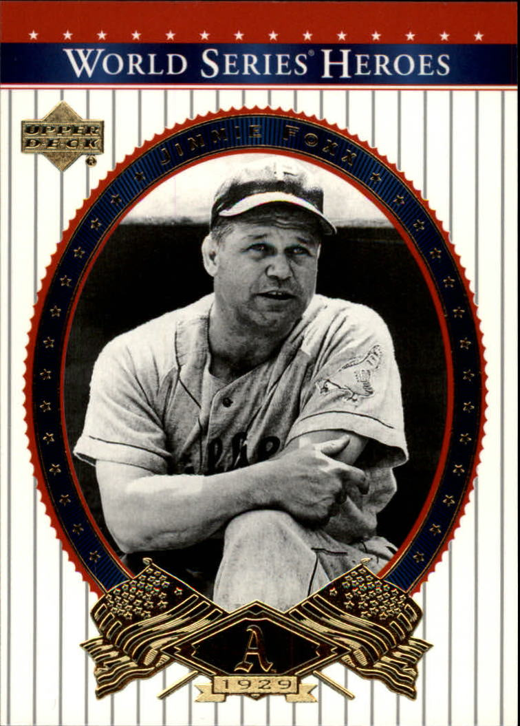 2002 Upper Deck World Series Heroes #2 Jimmie Foxx front image