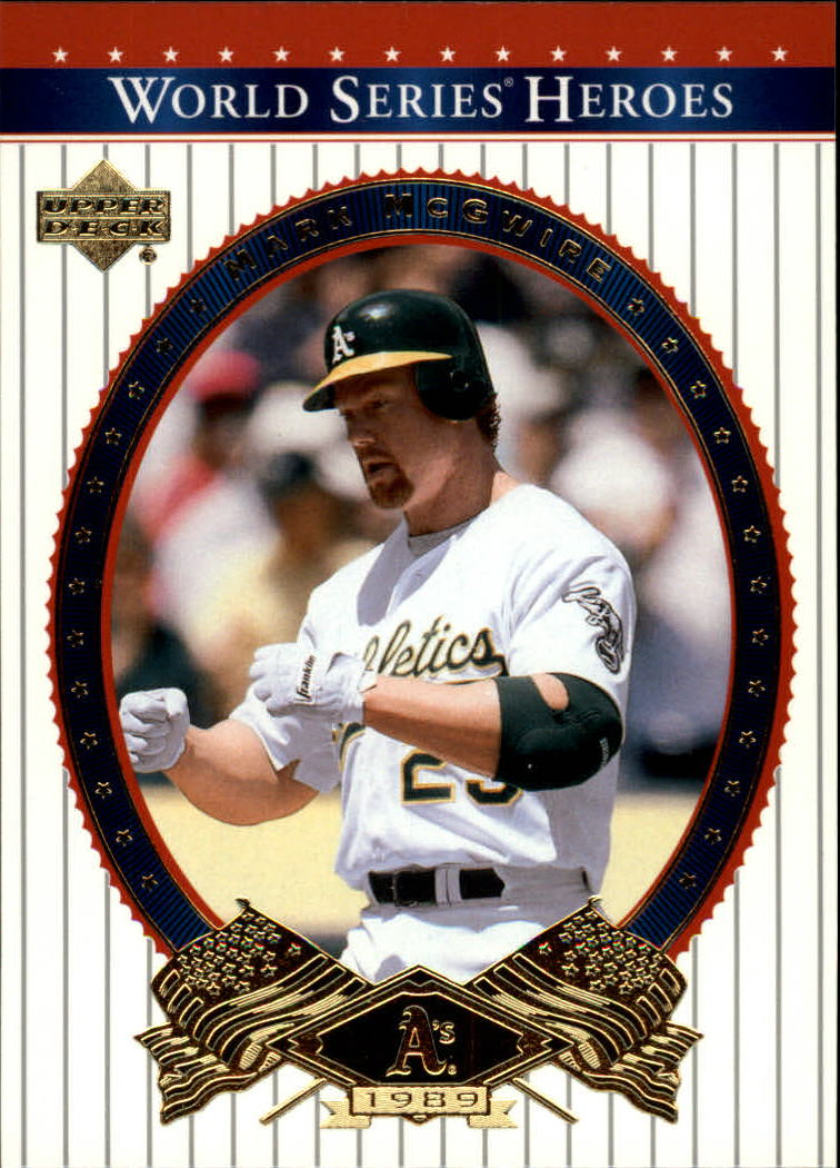 2002 Upper Deck World Series Heroes #3 Mark McGwire
