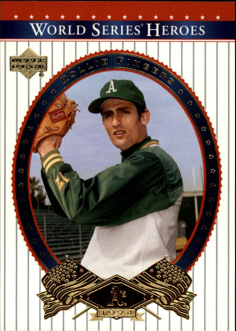 2002 Upper Deck World Series Heroes #4 Rollie Fingers