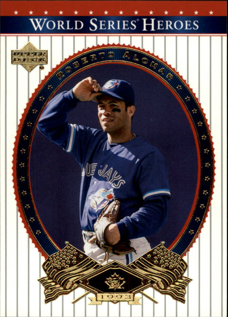 2002 Upper Deck World Series Heroes #8 Roberto Alomar