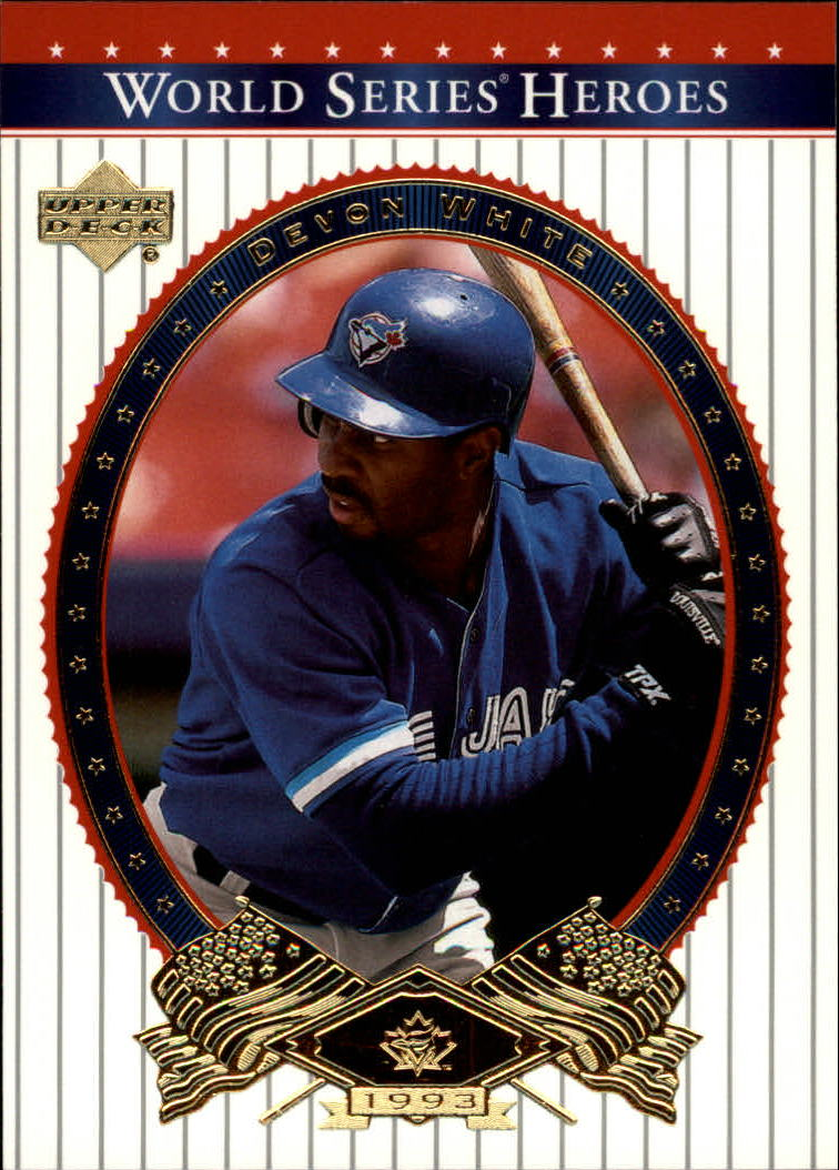 2002 Upper Deck World Series Heroes #10 Devon White