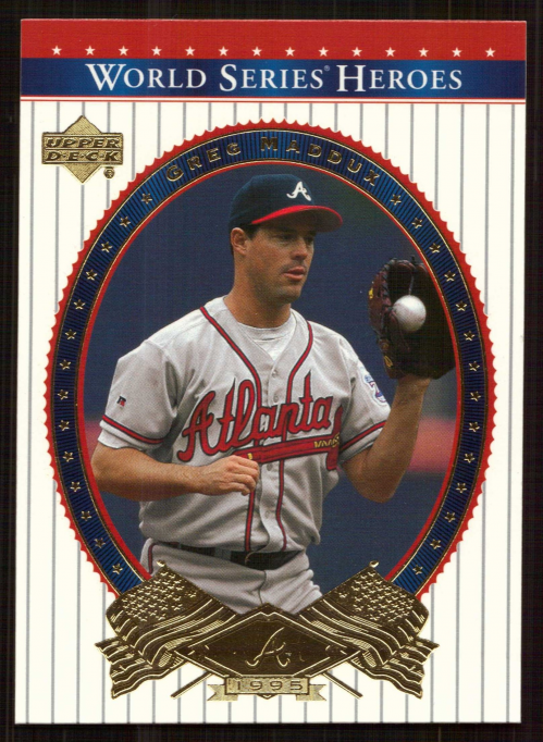 2002 Upper Deck World Series Heroes #12 Greg Maddux