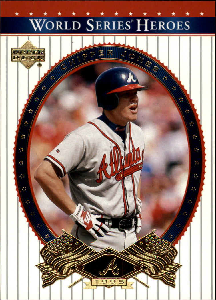 2002 Upper Deck World Series Heroes #13 Chipper Jones