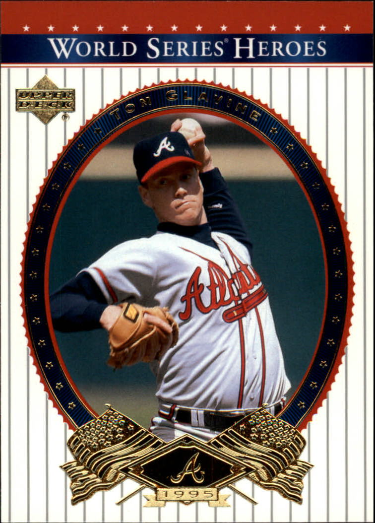 2002 Upper Deck World Series Heroes #14 Tom Glavine