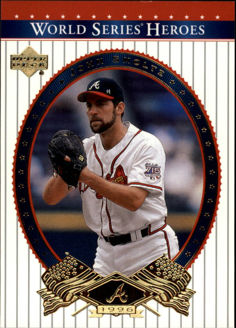 2002 Upper Deck World Series Heroes #19 John Smoltz