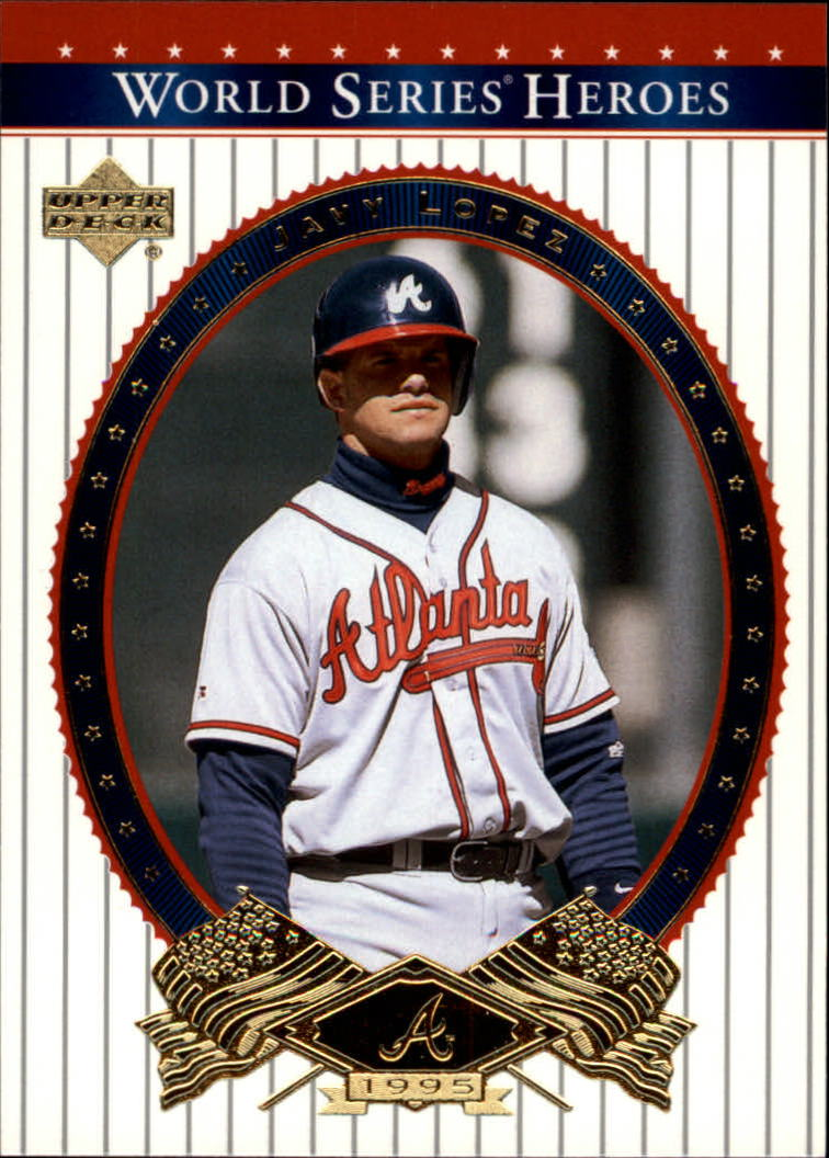 2002 Upper Deck World Series Heroes #20 Javy Lopez