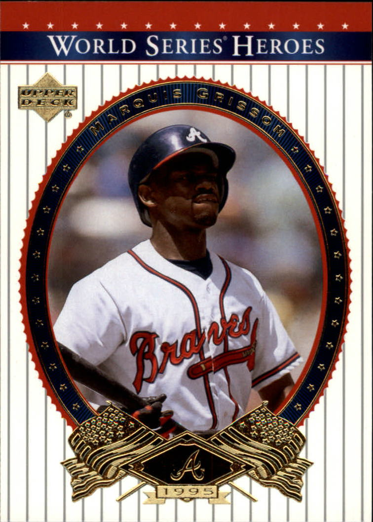 2002 Upper Deck World Series Heroes #21 Marquis Grissom