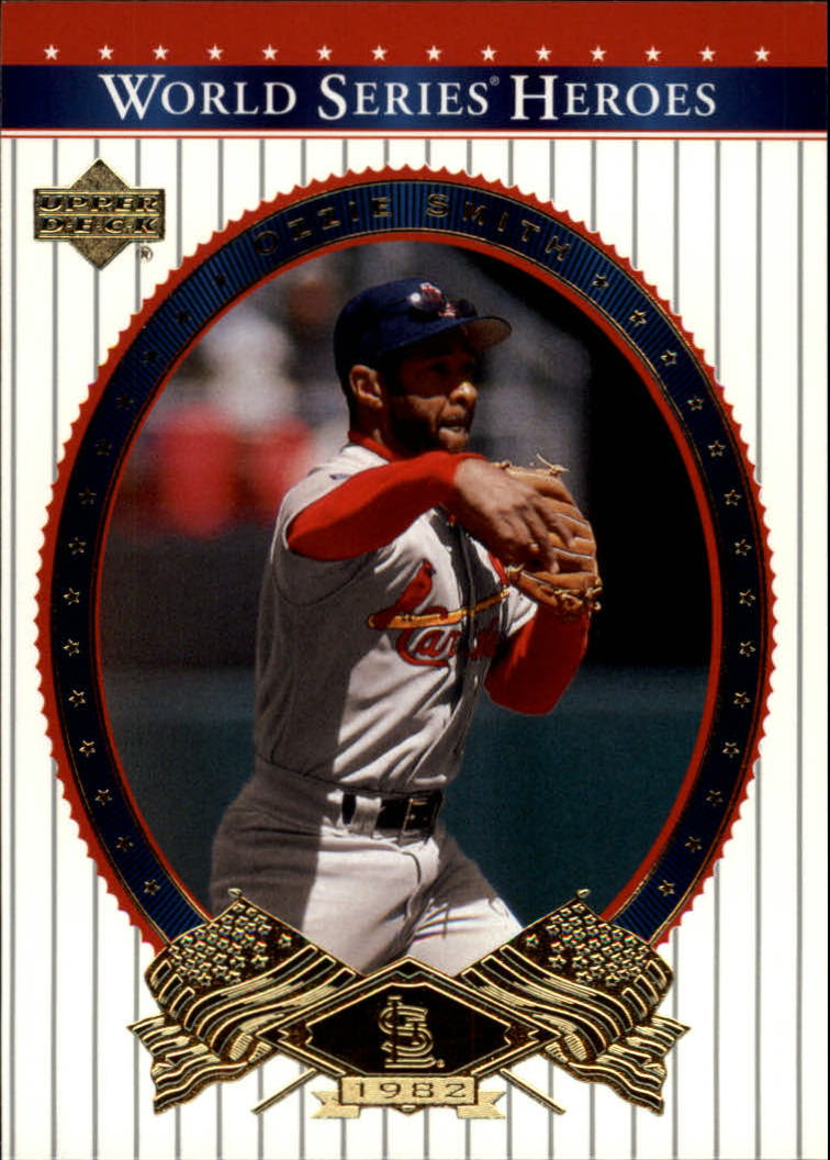 2002 Upper Deck World Series Heroes #23 Ozzie Smith