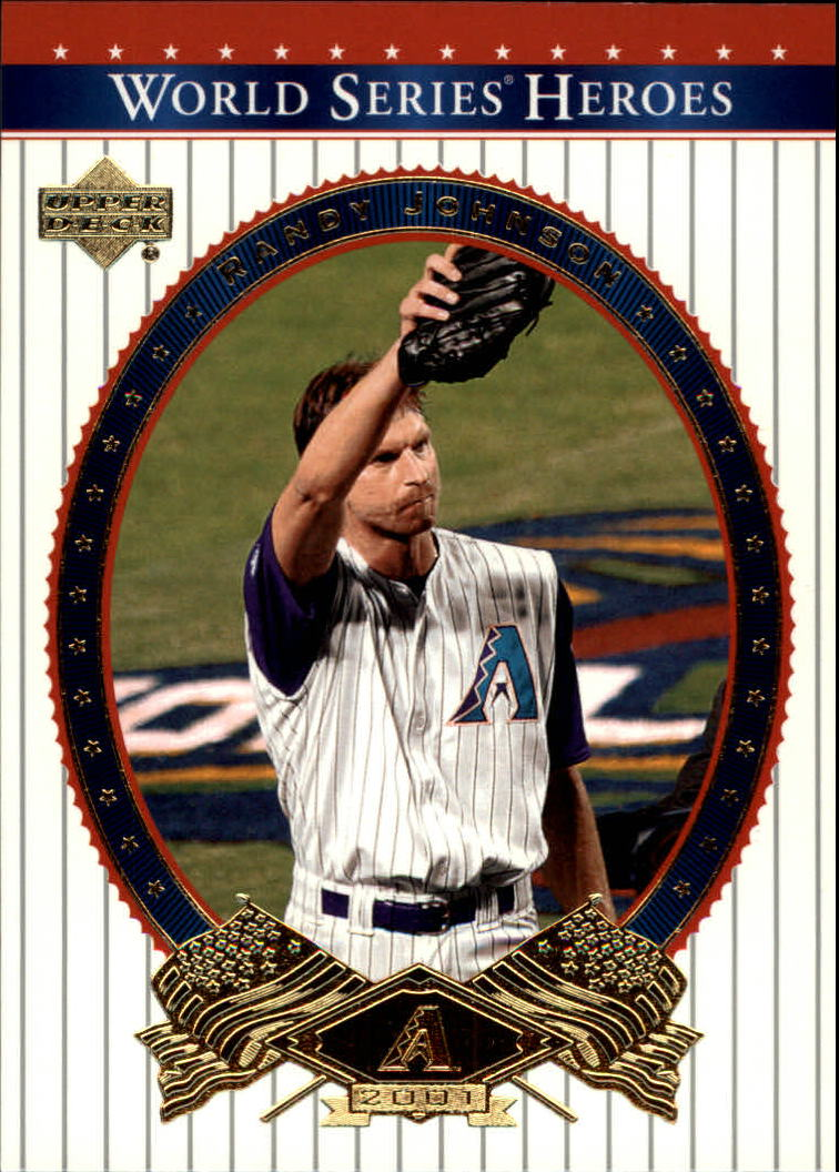 2002 Upper Deck World Series Heroes #26 Randy Johnson