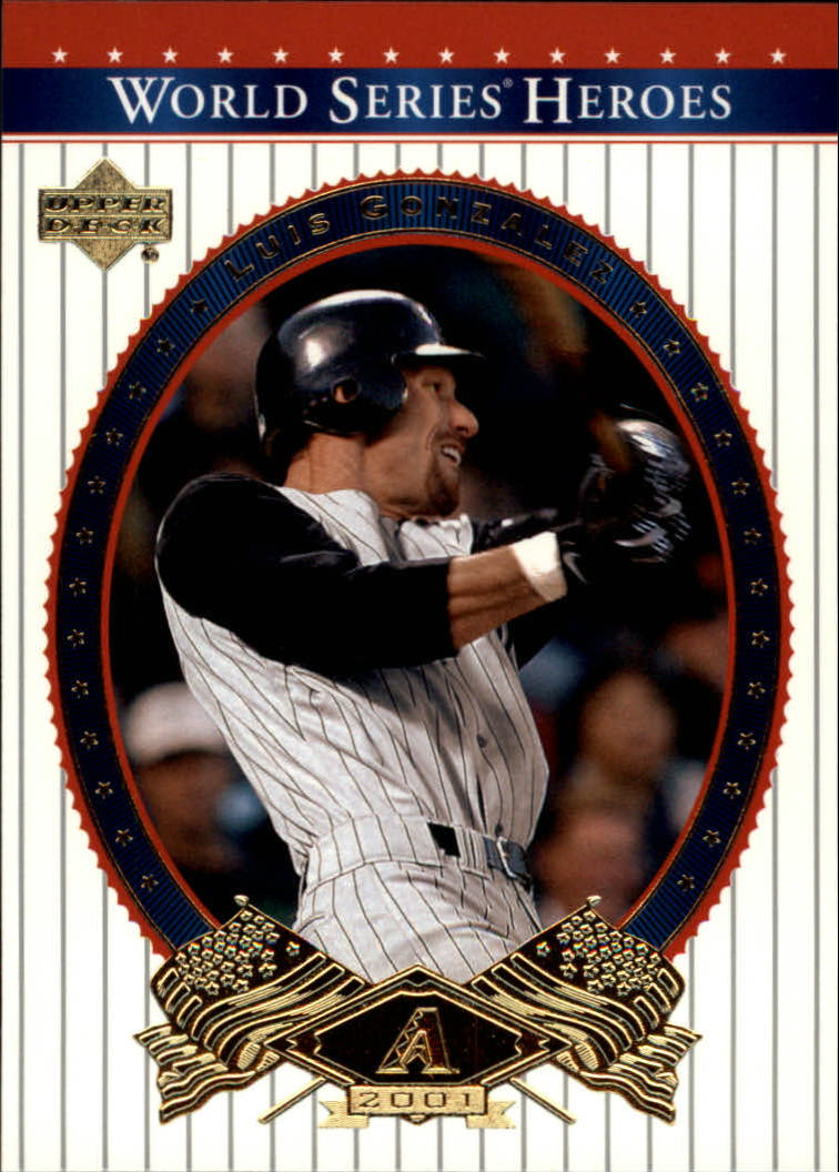 2002 Upper Deck World Series Heroes #27 Luis Gonzalez