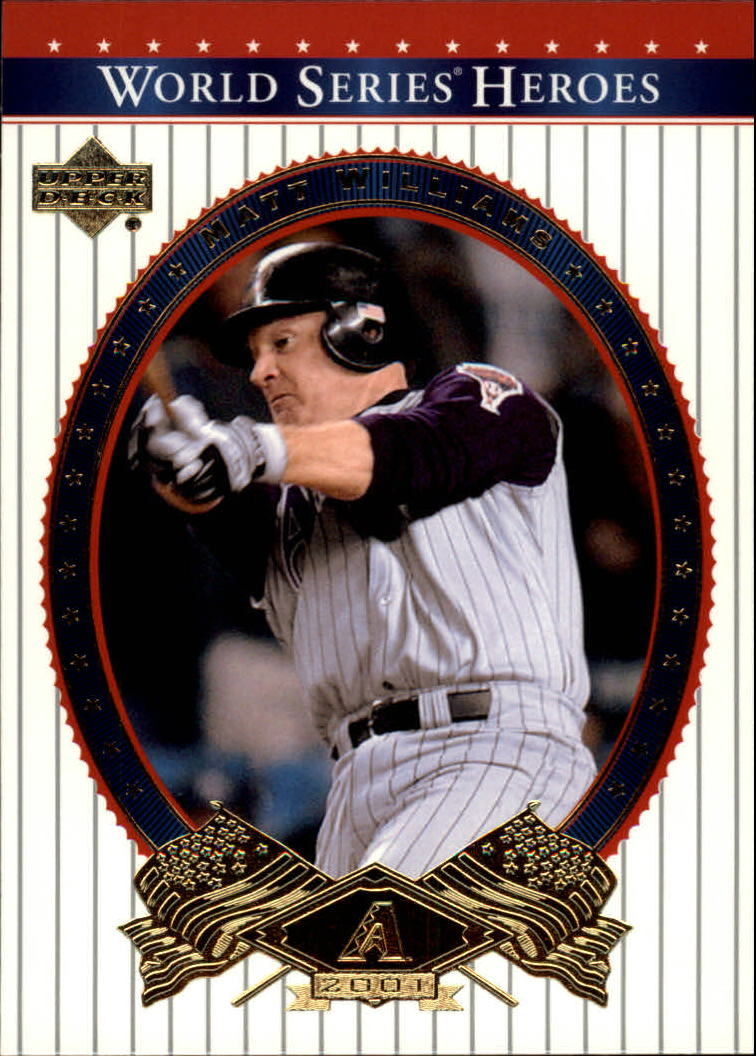 2002 Upper Deck World Series Heroes #28 Matt Williams