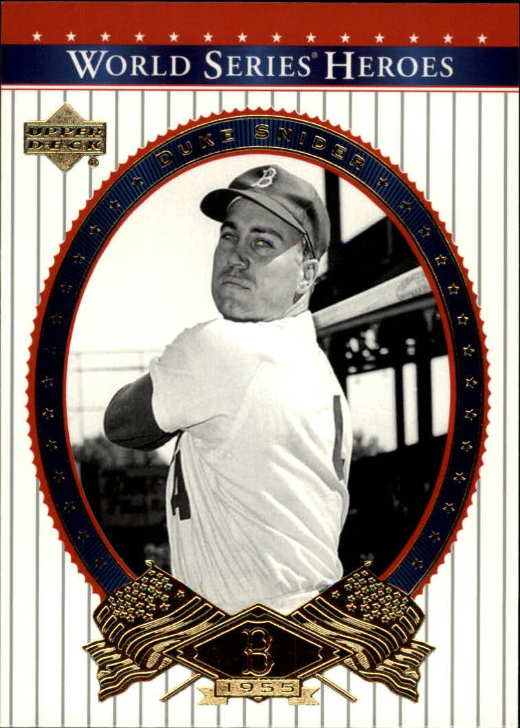 2002 Upper Deck World Series Heroes #31 Duke Snider
