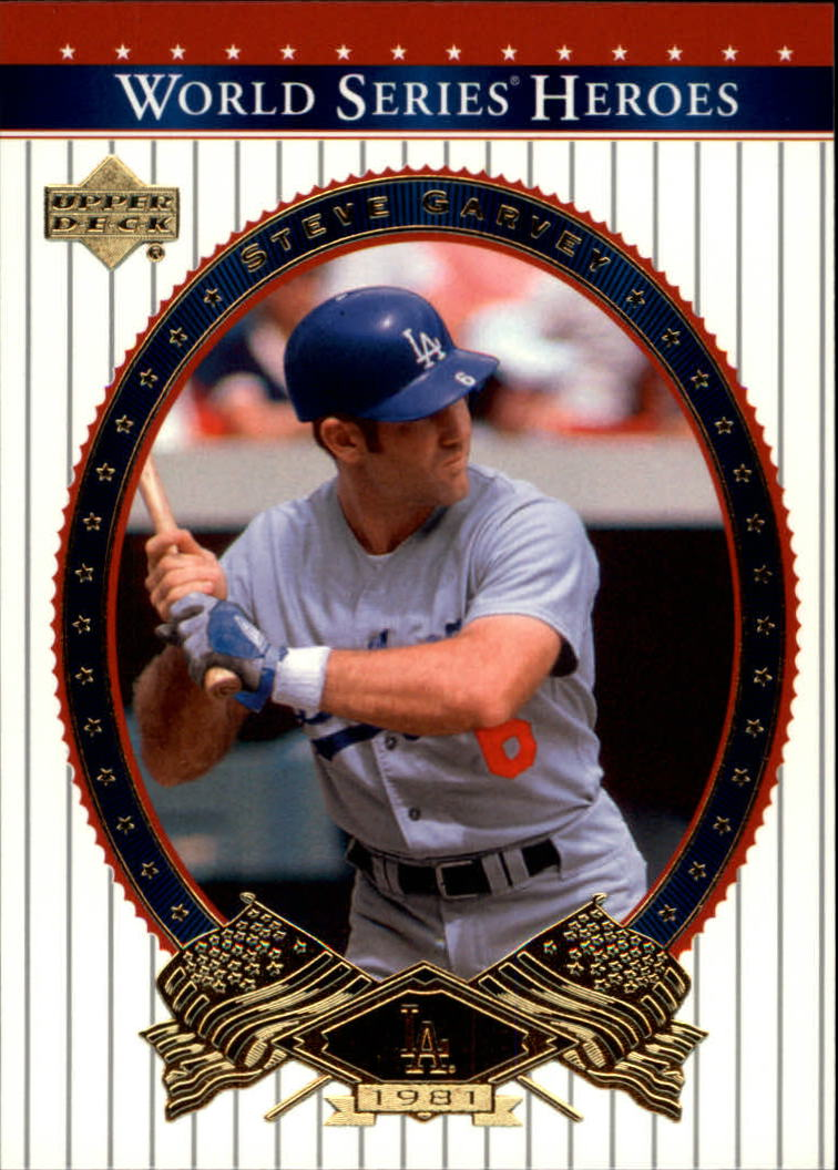 2002 Upper Deck World Series Heroes #33 Steve Garvey