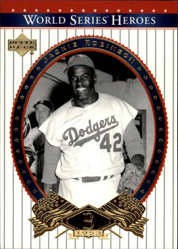 2002 Upper Deck World Series Heroes #34 Jackie Robinson