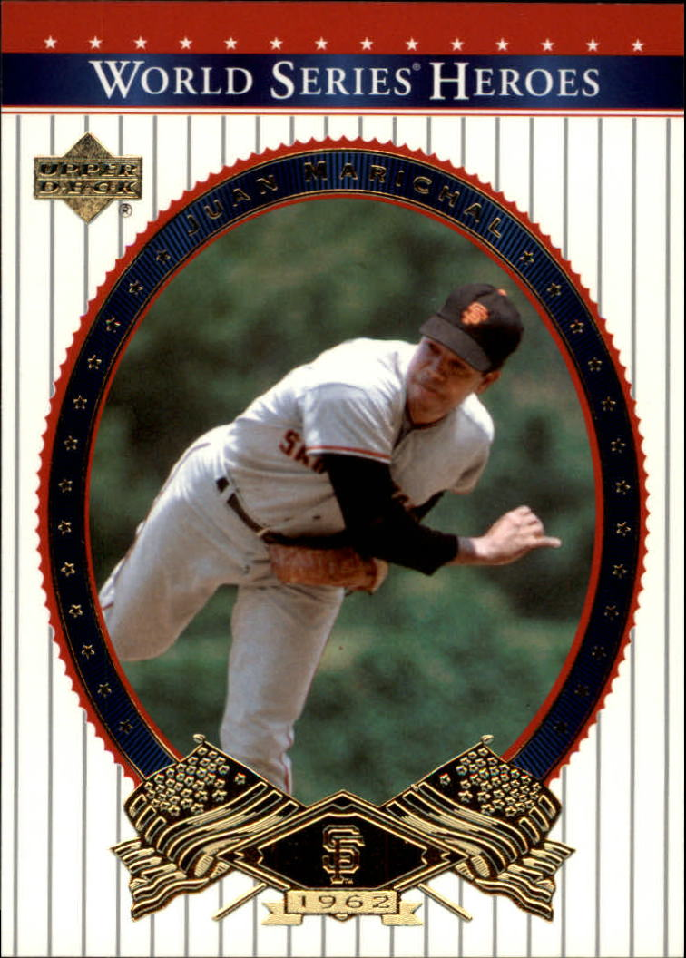 2002 Upper Deck World Series Heroes #36 Juan Marichal