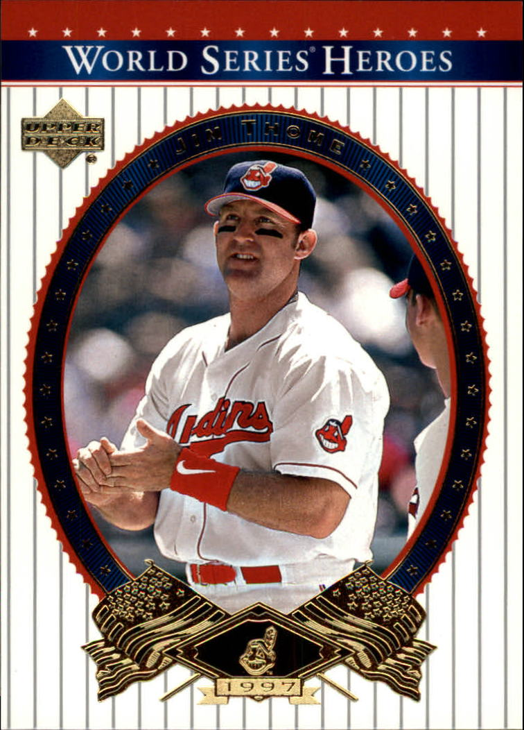 2002 Upper Deck World Series Heroes #39 Jim Thome