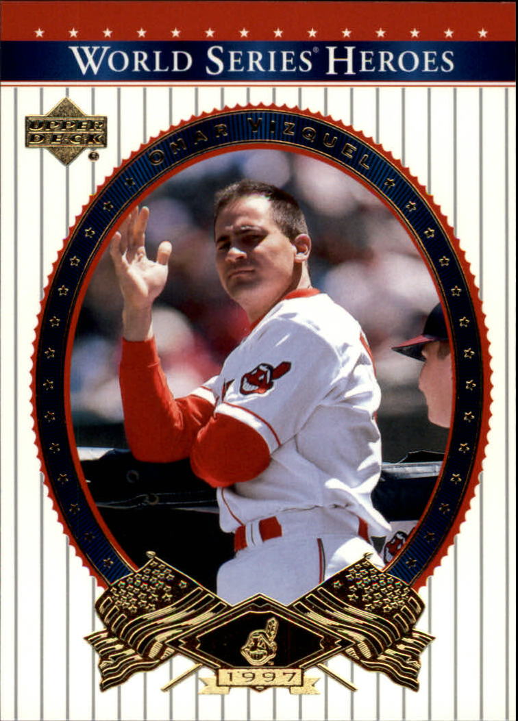 2002 Upper Deck World Series Heroes #41 Omar Vizquel