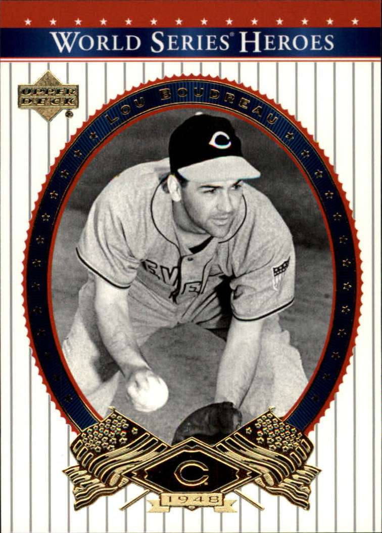 2002 Upper Deck World Series Heroes #42 Lou Boudreau