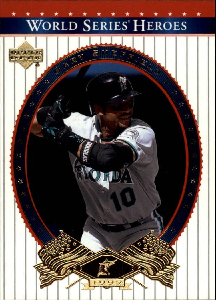 2002 Upper Deck World Series Heroes #43 Gary Sheffield