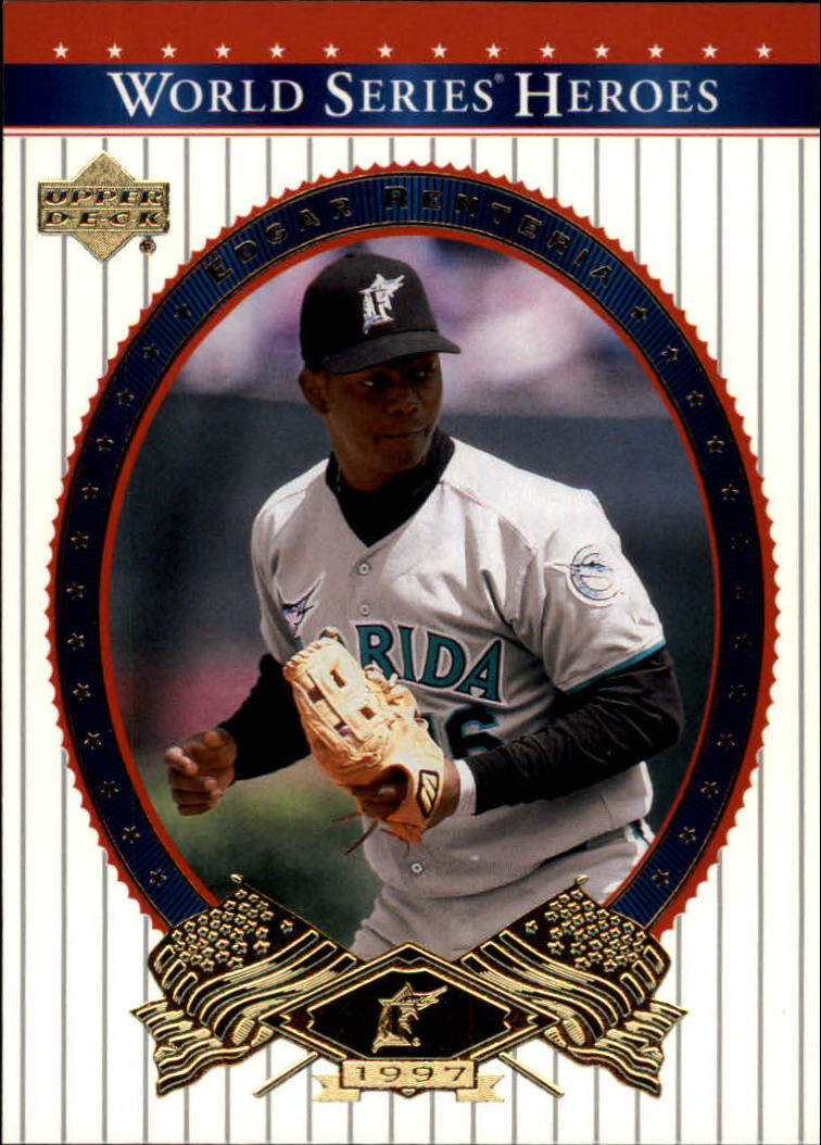 2002 Upper Deck World Series Heroes #46 Edgar Renteria