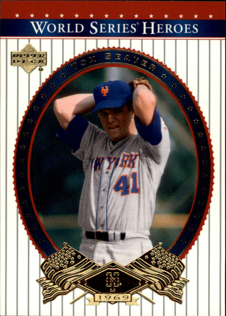2002 Upper Deck World Series Heroes #48 Tom Seaver