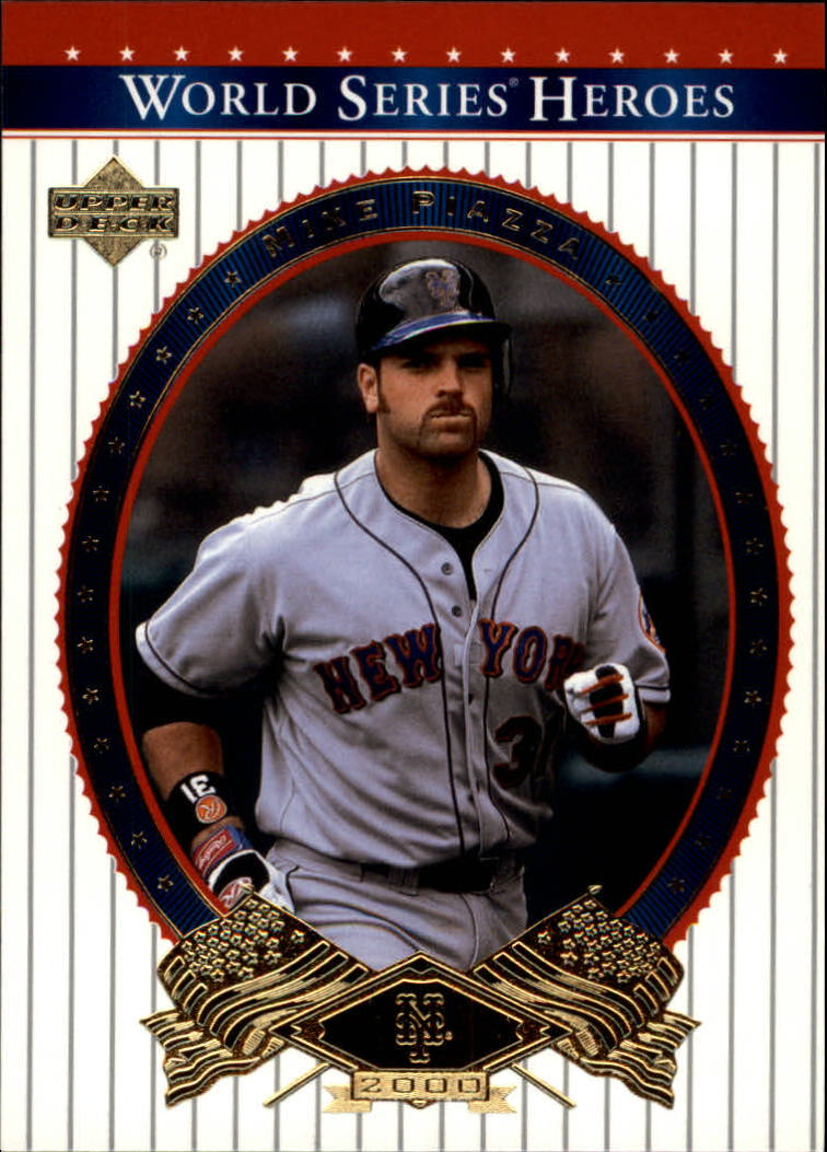 2002 Upper Deck World Series Heroes #50 Mike Piazza
