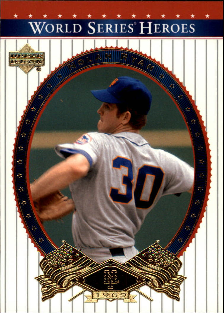 2002 Upper Deck World Series Heroes #51 Nolan Ryan