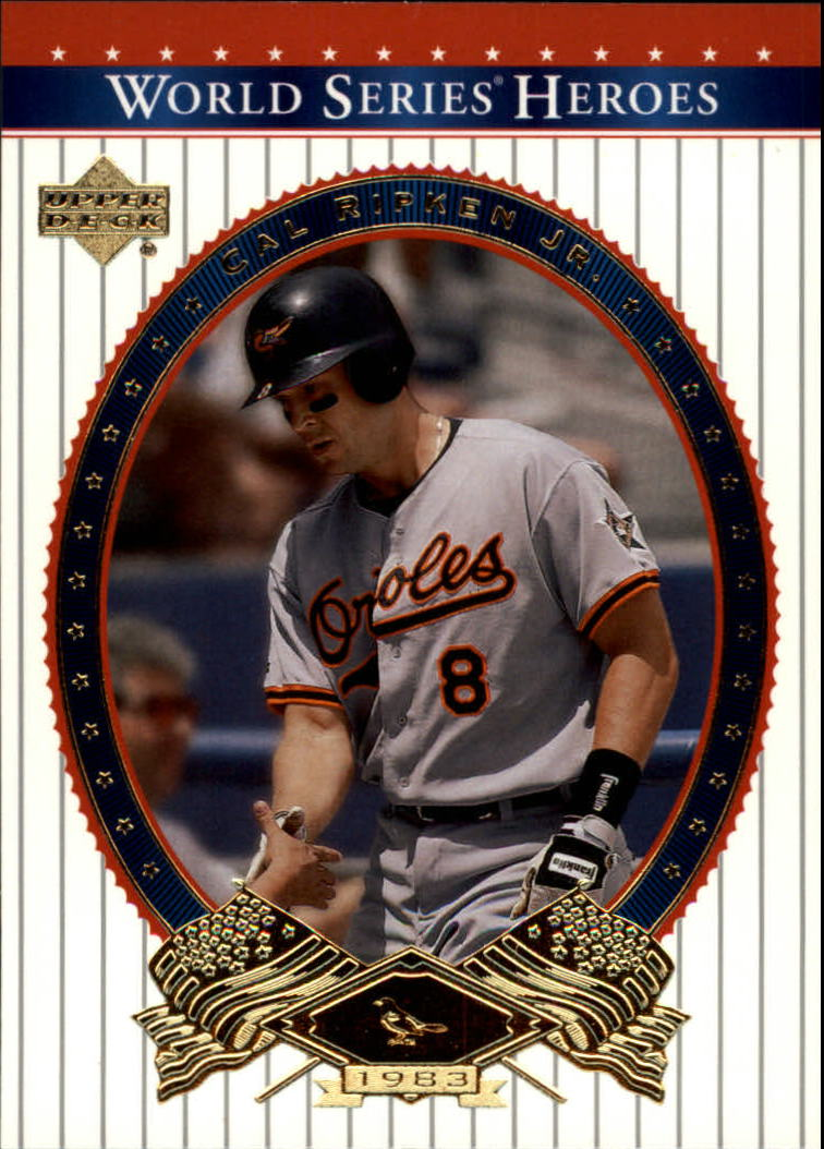 2002 Upper Deck World Series Heroes #55 Cal Ripken