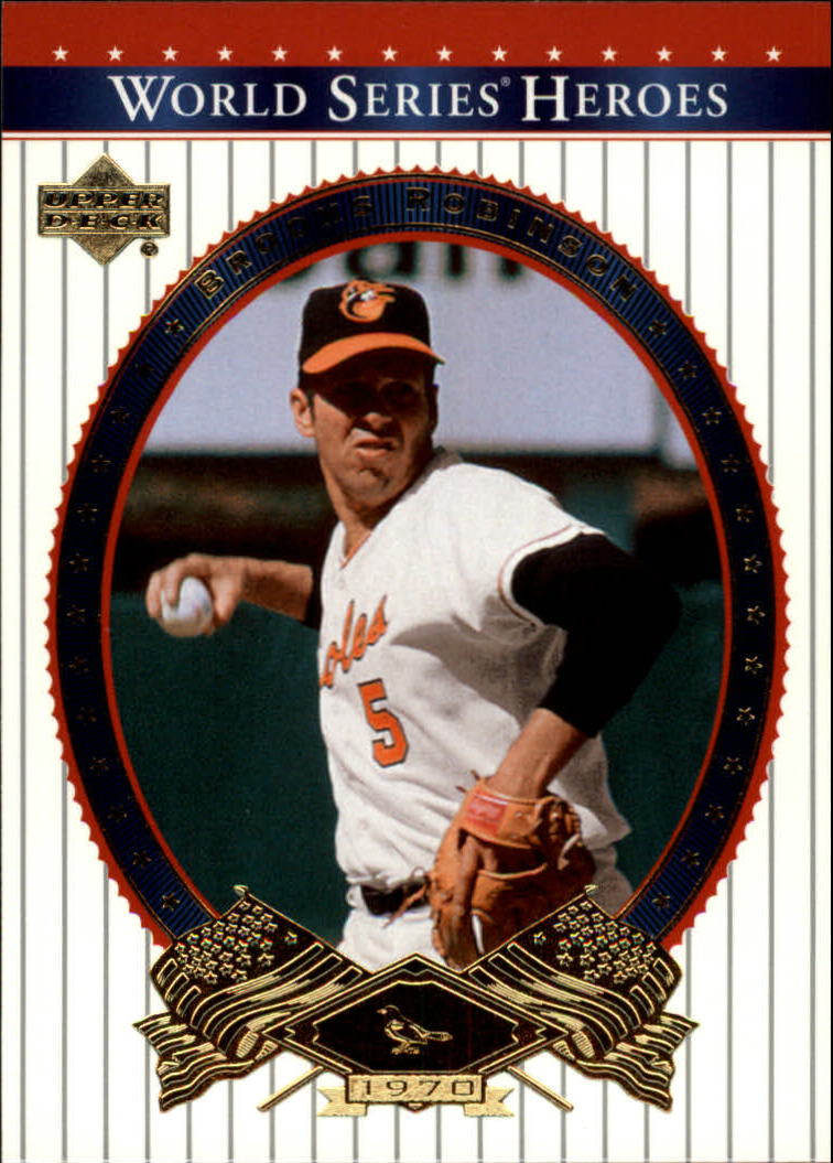 2002 Upper Deck World Series Heroes #56 Brooks Robinson