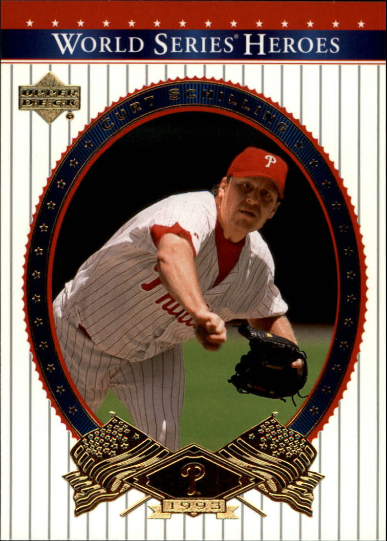 2002 Upper Deck World Series Heroes #59 Curt Schilling