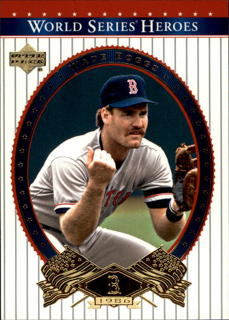 2002 Upper Deck World Series Heroes #63 Wade Boggs