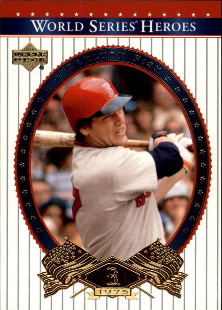 2002 Upper Deck World Series Heroes #64 Carlton Fisk