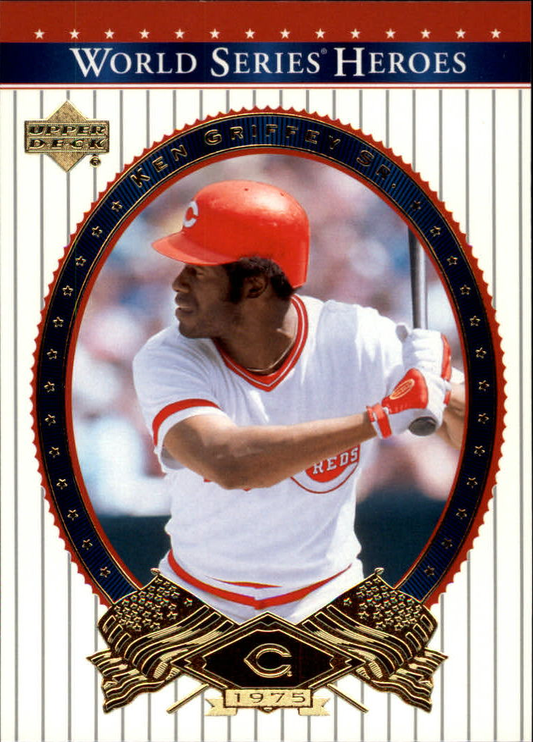 2002 Upper Deck World Series Heroes #65 Ken Griffey Sr.