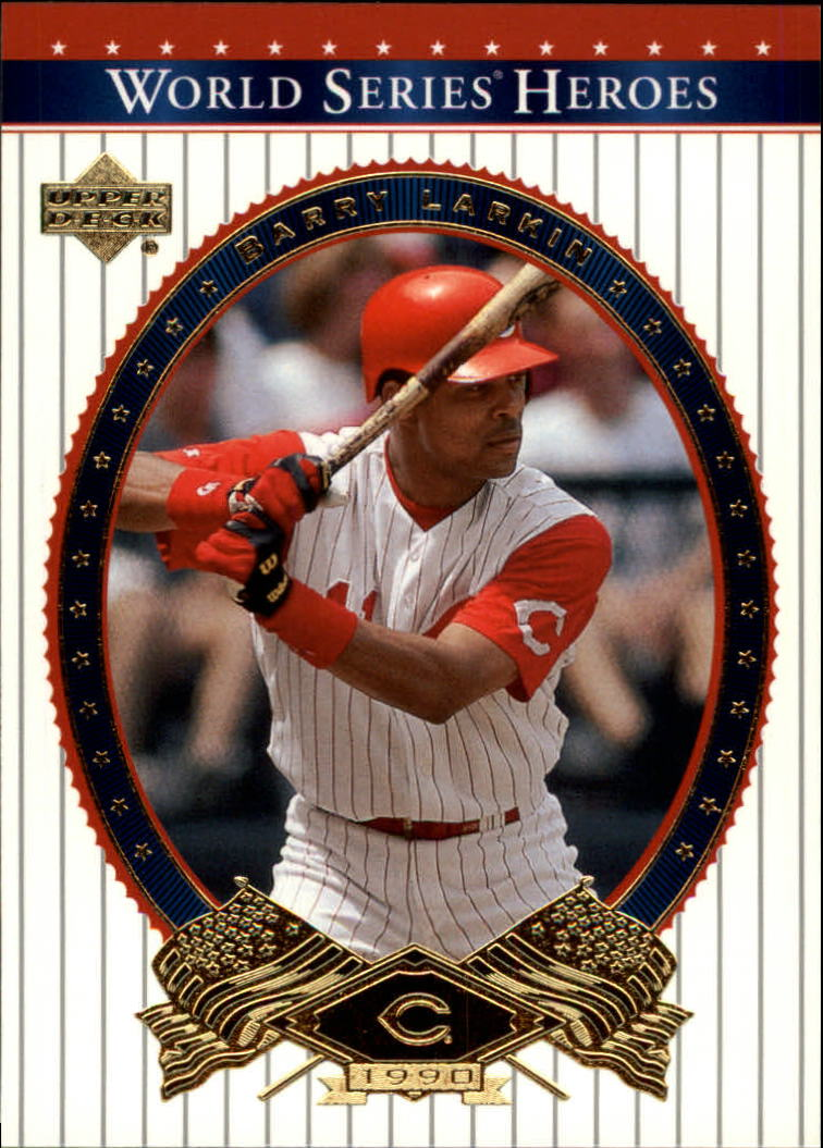 2002 Upper Deck World Series Heroes #68 Barry Larkin