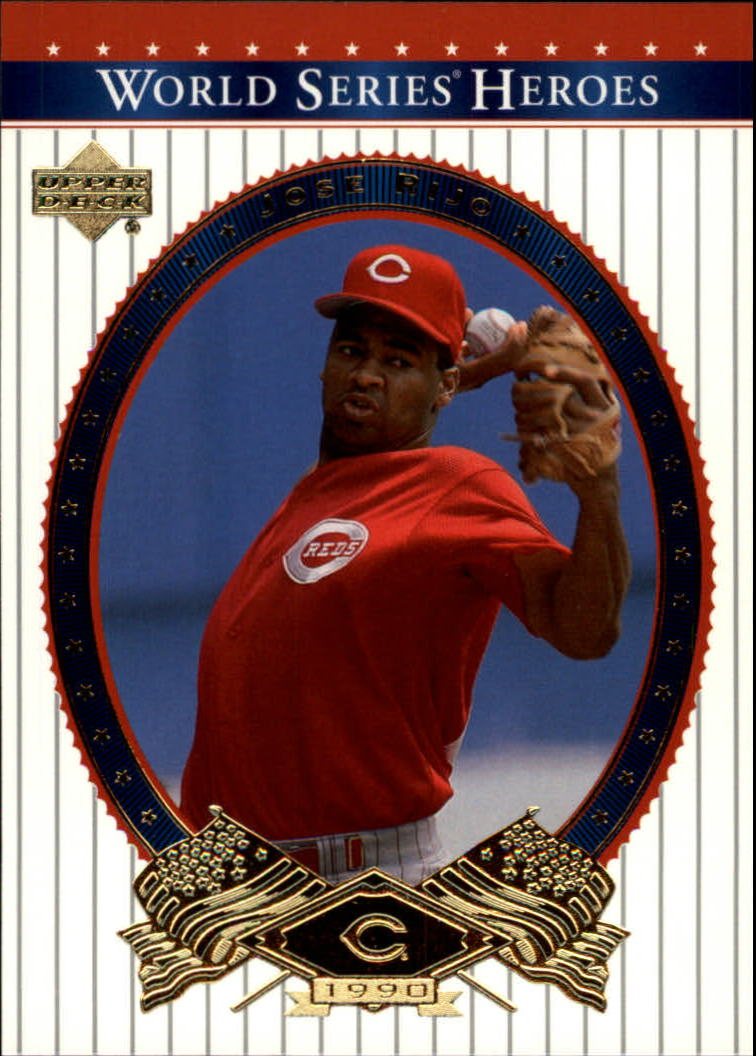 2002 Upper Deck World Series Heroes #69 Jose Rijo