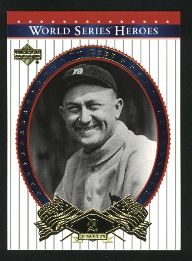 2002 Upper Deck World Series Heroes #70 Ty Cobb front image