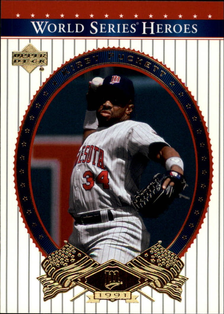 2002 Upper Deck World Series Heroes #71 Kirby Puckett