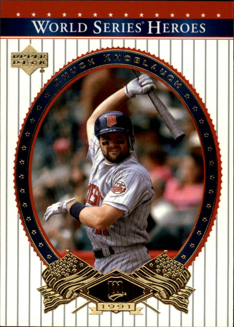 2002 Upper Deck World Series Heroes #72 Chuck Knoblauch