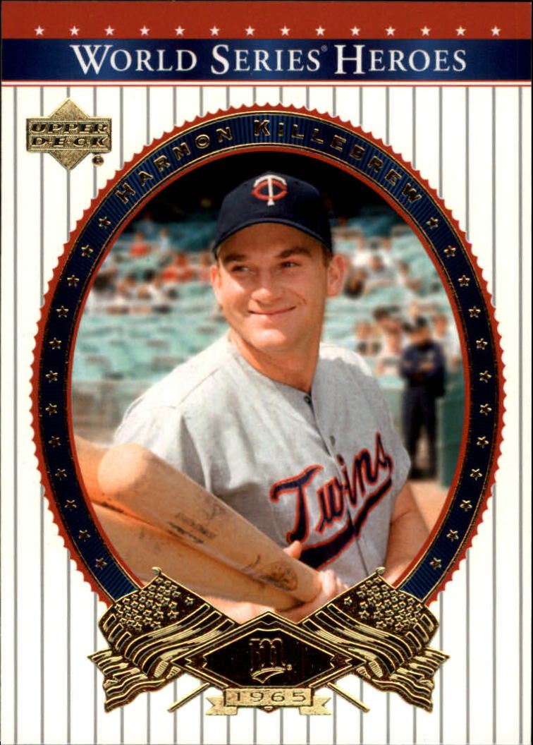 2002 Upper Deck World Series Heroes #73 Harmon Killebrew front image