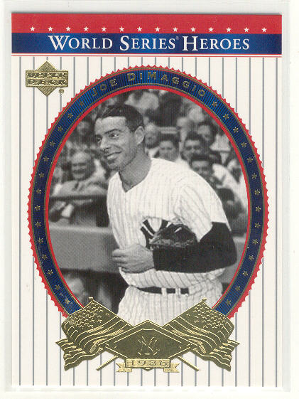 2002 Upper Deck World Series Heroes #75 Joe DiMaggio