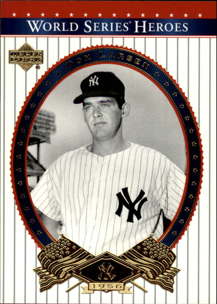 2002 Upper Deck World Series Heroes #76 Don Larsen